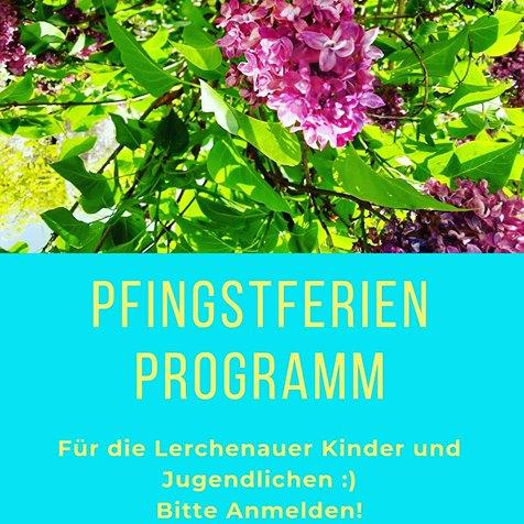 Unser Pfingstferien-Programm